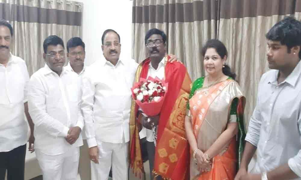 Khammam MLA Puvvada Ajay appointed Transport Minister