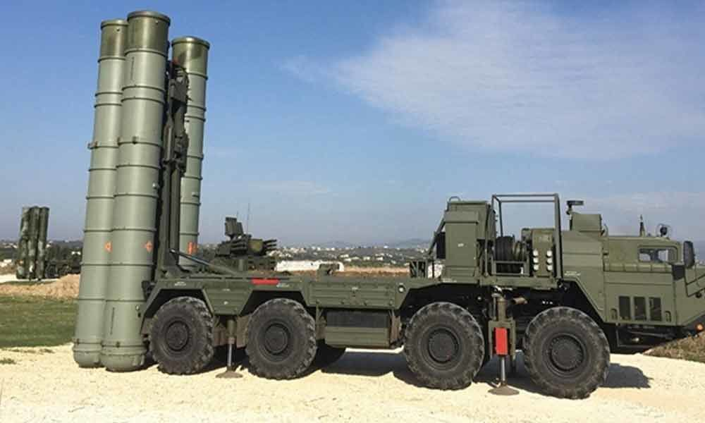 Russia states S-400 systems to be delivered to India in 18-19 months