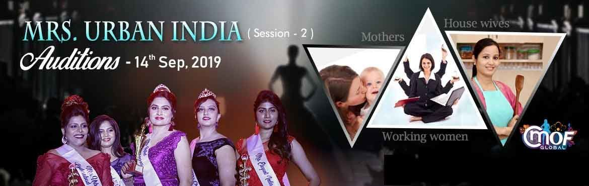 Mrs Urban India - 2019 Auditions