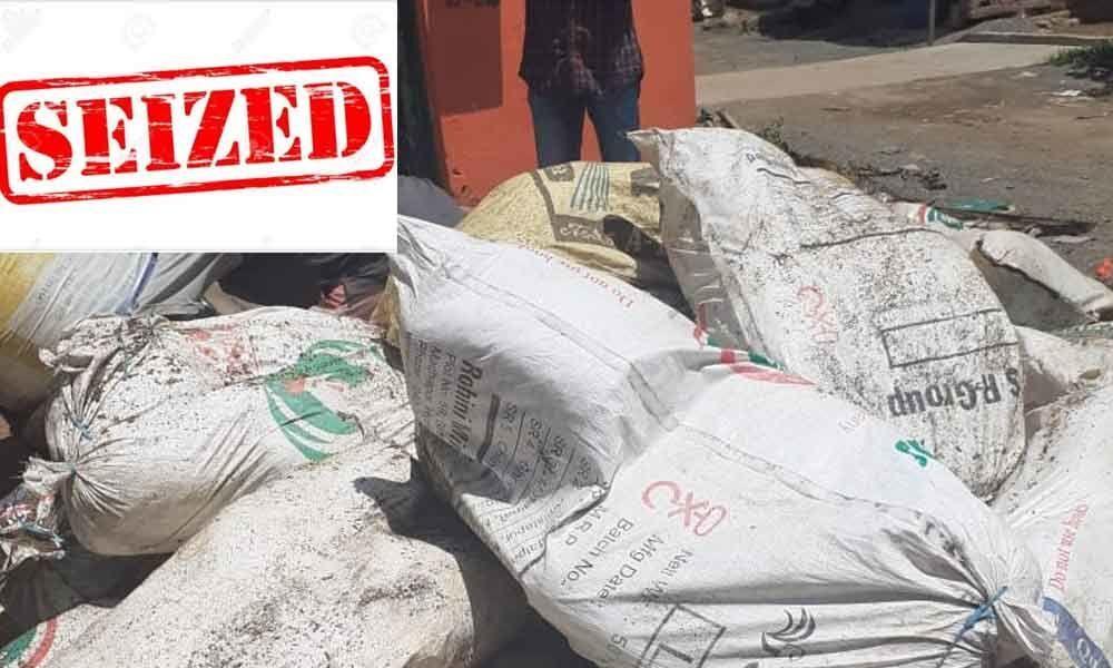 Excise Department seizes 815 kg of Marijuana in Vizag