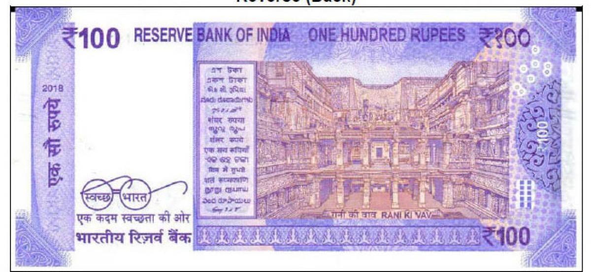 Features of new Rs 100 notes to be issued by RBI