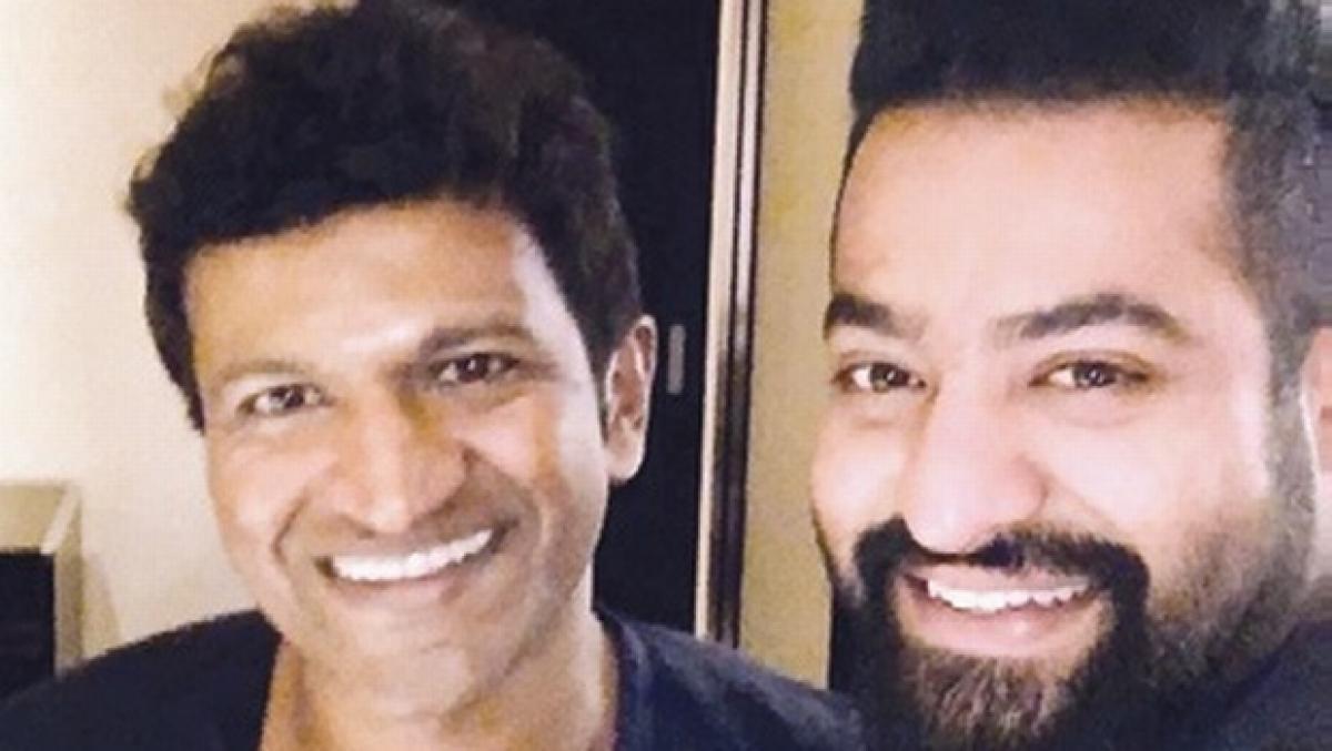 Geleya Geleya from Chakravyuha reflects NTR-Puneeth Friendship: Power Star