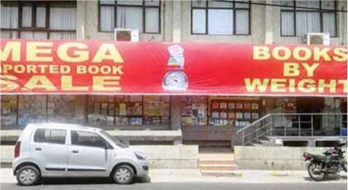Mega book sale in Hyderabad