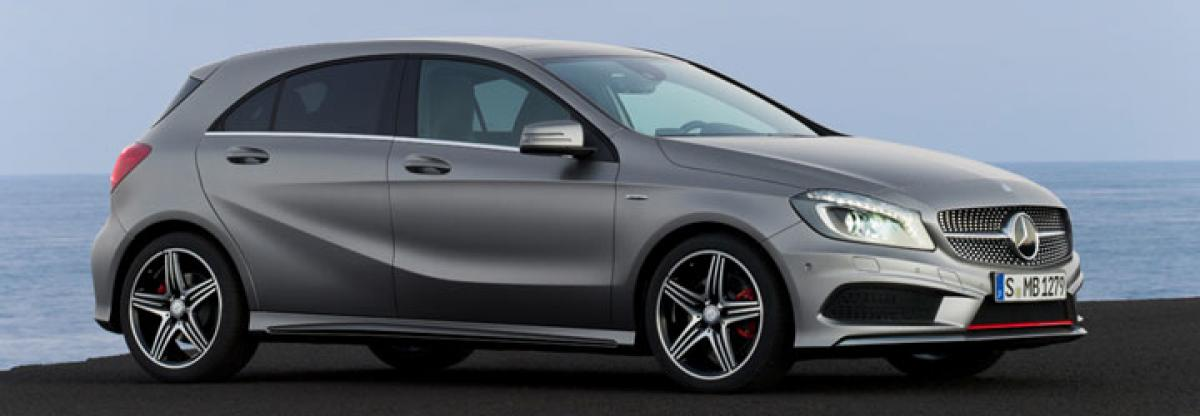 Mercedes-Benz A-Class facelift to be launched today