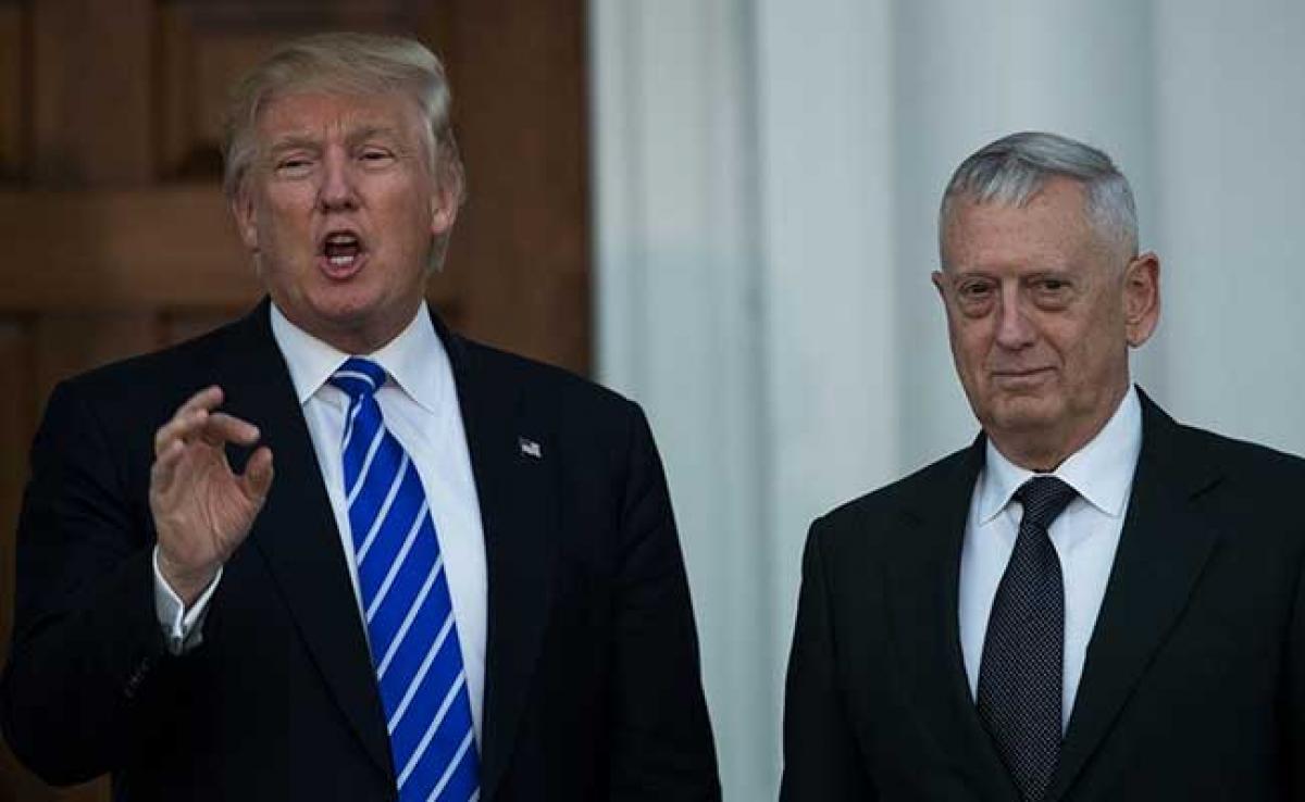 US Senate Confirms James Mattis As Donald Trump