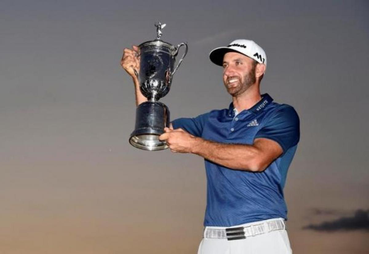 Amid high drama and rules controversy Justin Johnson wins first major golf title