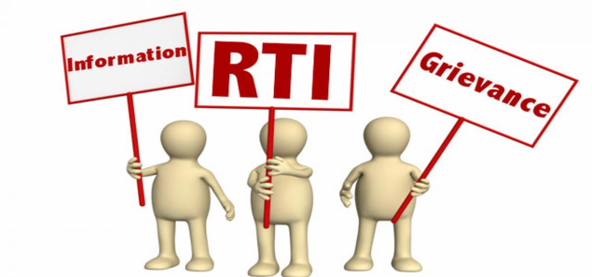 Don't compel to file fresh RTI