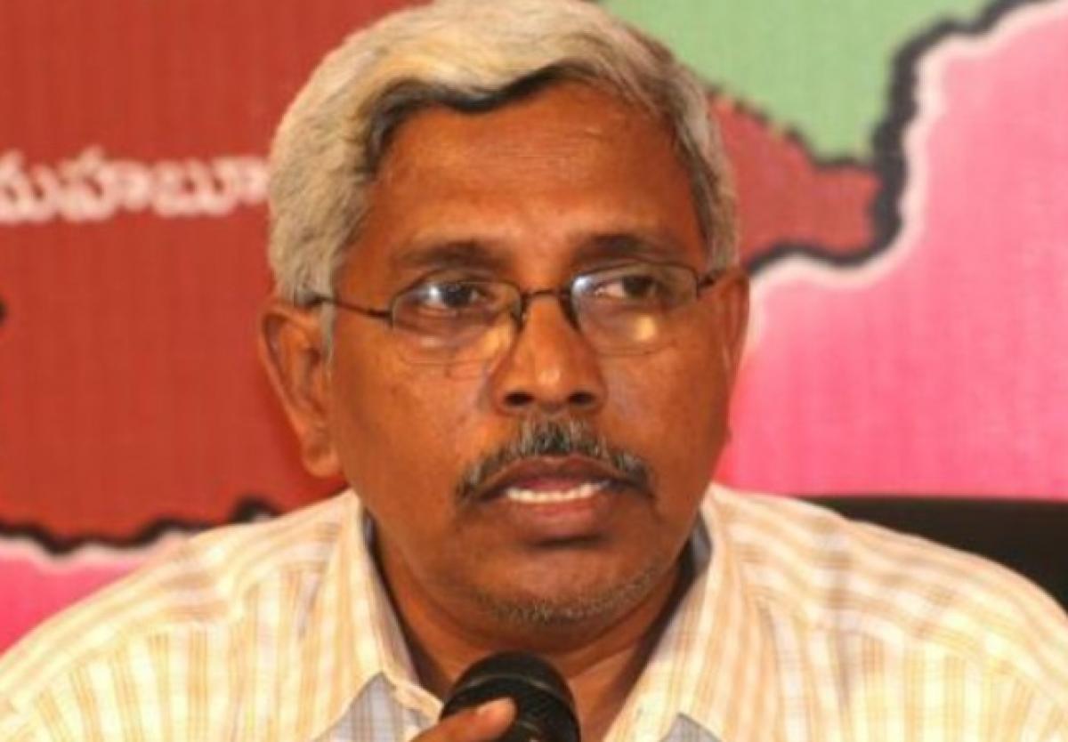 Miyapur land scam: Kodandaram demands CBI probe