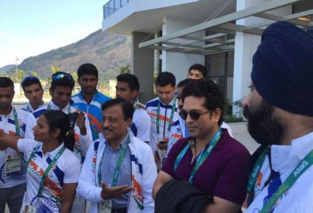 Rio Olympics: Tendulkar backs Indian athletes after poor show