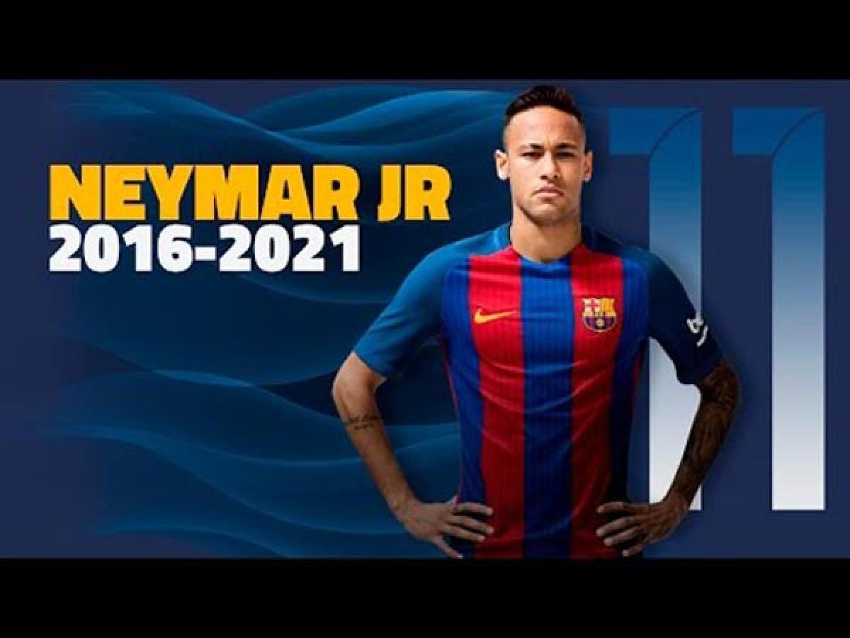Its Official: Barcelona will keep Neymar till 2021