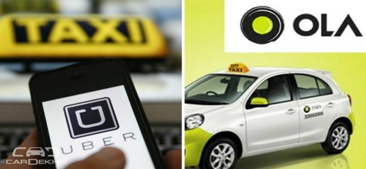 Taxi Assn Seeks Ban On Ola, Uber; HC Asks Govt For New Regulation Scheme