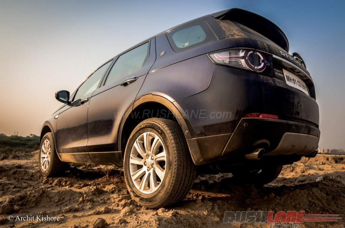 How much does Land Rover Discovery Sport petrol cost in India?