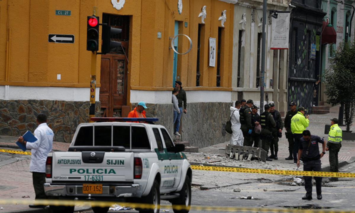 Explosion near Bogota