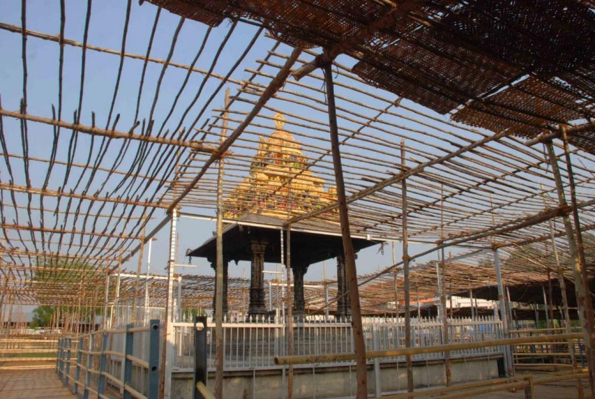 Bhadradri Brahmostsavams commence today
