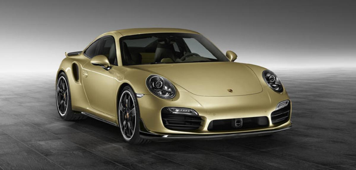 Porsche 911 Turbo and Turbo S facelift unveiled