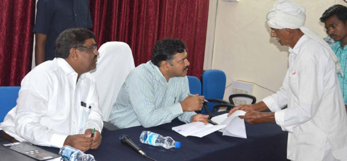 Be responsive to people's issues: Collector
