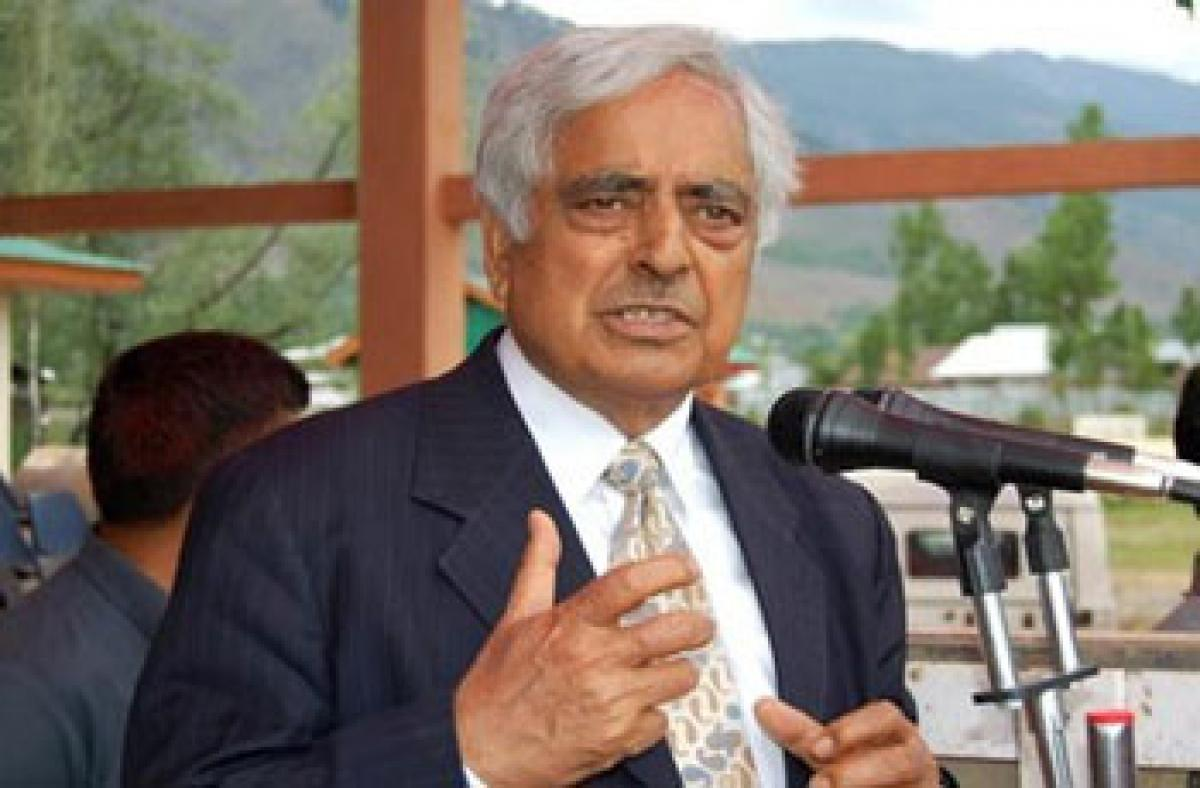 Jammu and Kashmir Chief Minister Dies