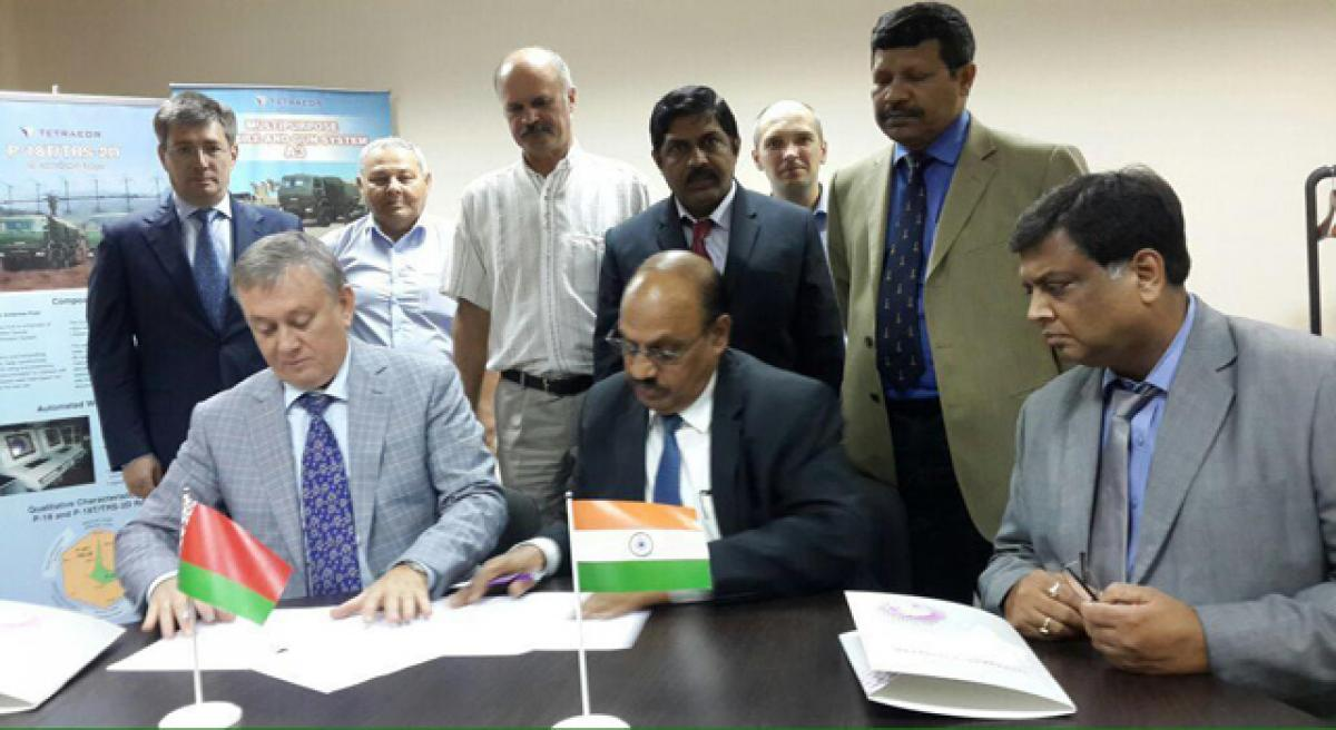 ECIL signs MoU with Belarus firm