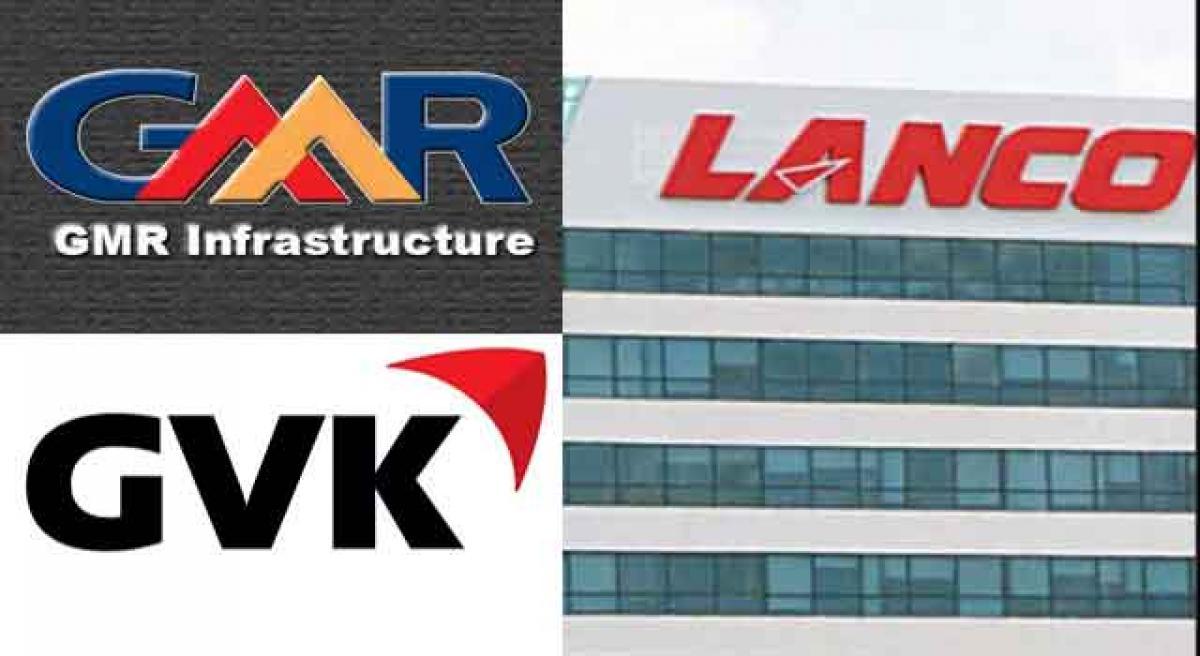 Lanco, GVK, GMR reel under 1.05 L cr debt