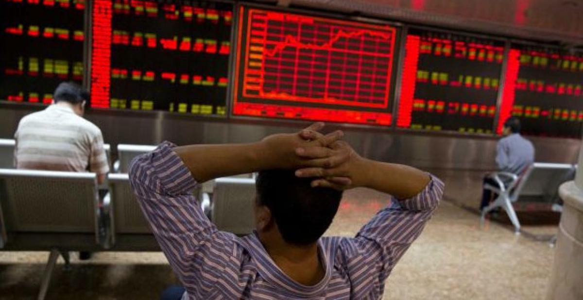 China stocks slide