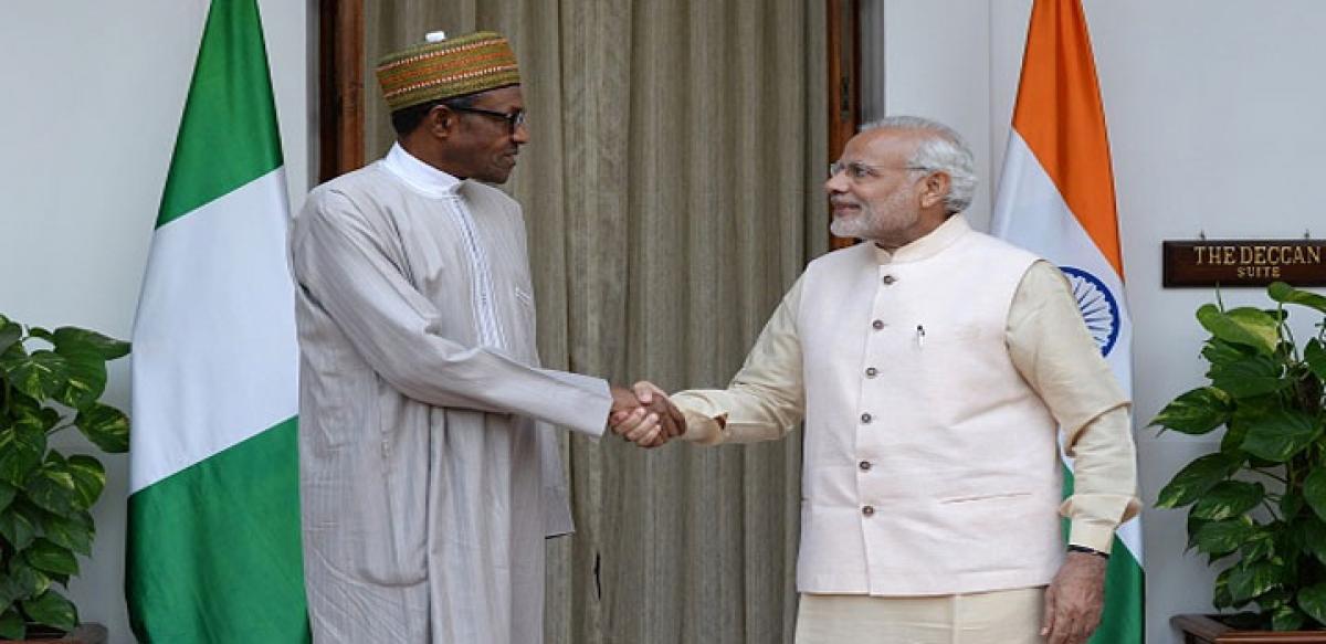 Modi pitches partnership of prosperity to Africa
