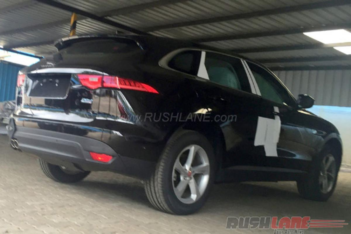 Jaguar F-Pace few days away from launch in India