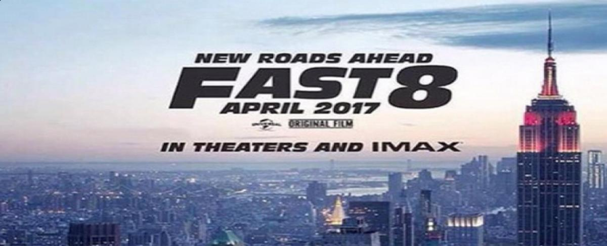 First Look: Fast and Furious 8 Vin Diesel