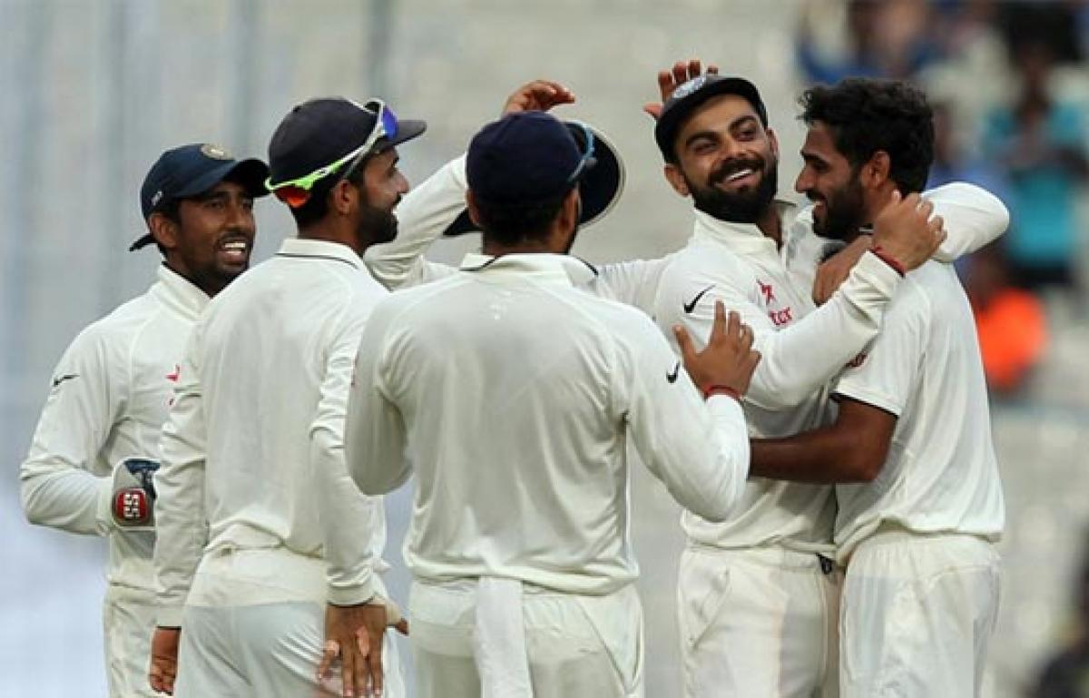 Team India on top