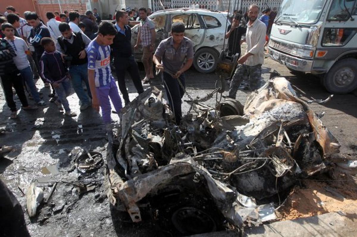 Nine killed in car bomb attack in Baghdad