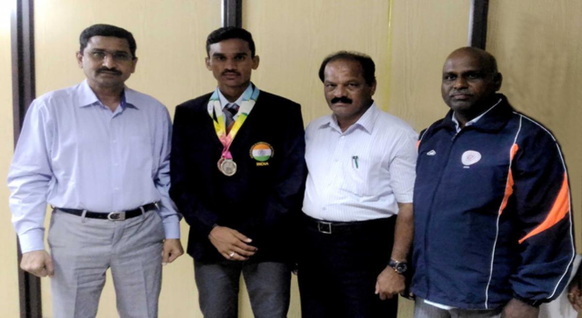 Srikanth wins eight medals in Turkey