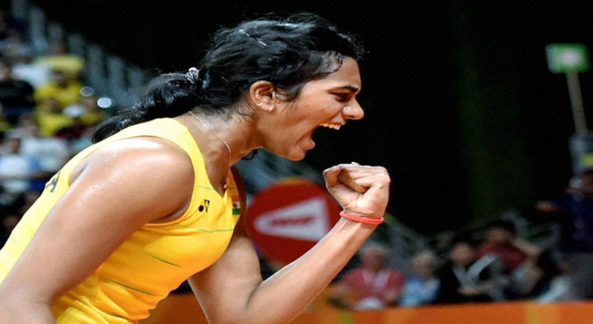 Silver lining for Sindhu