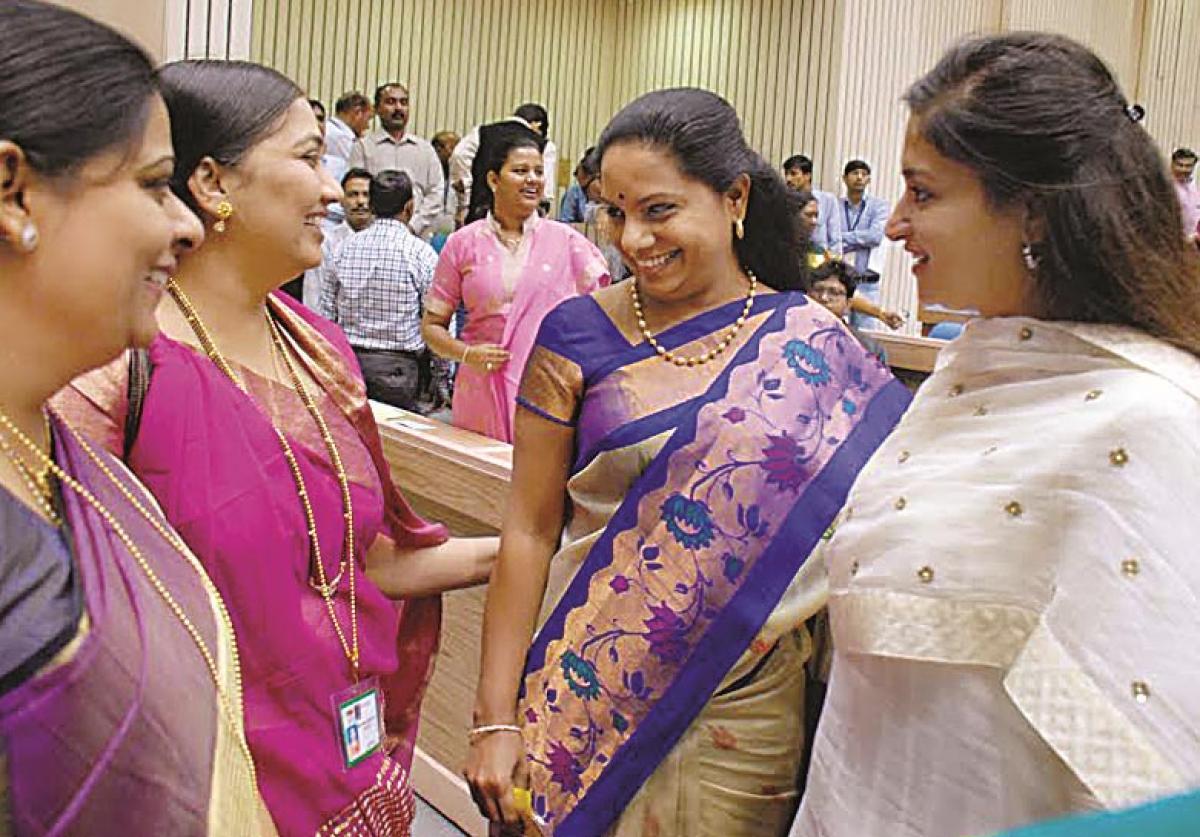 Women lawmakers meet perks up Telugu MPs