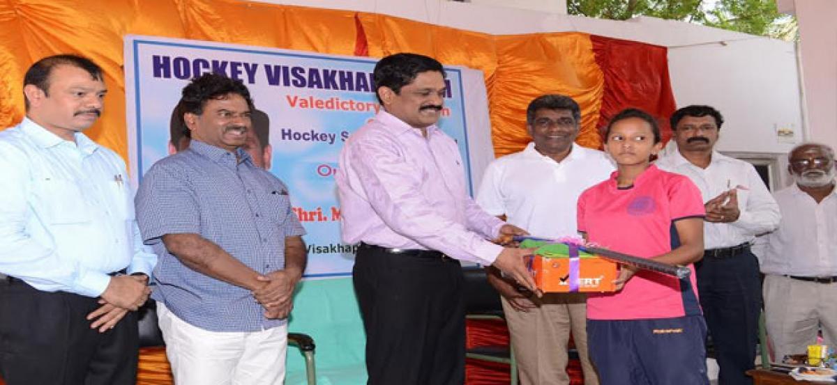 Visakhapatnam Port Trust to promote hockey