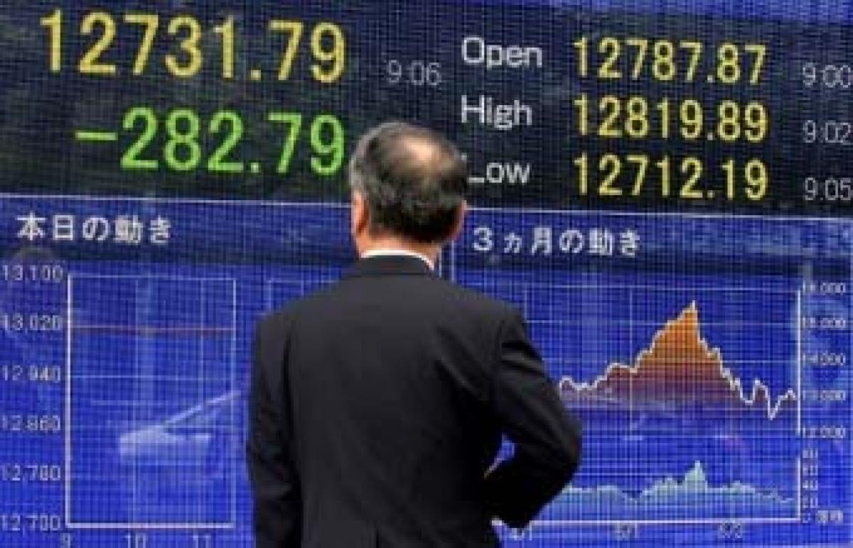 Tokyo shares skyrocket