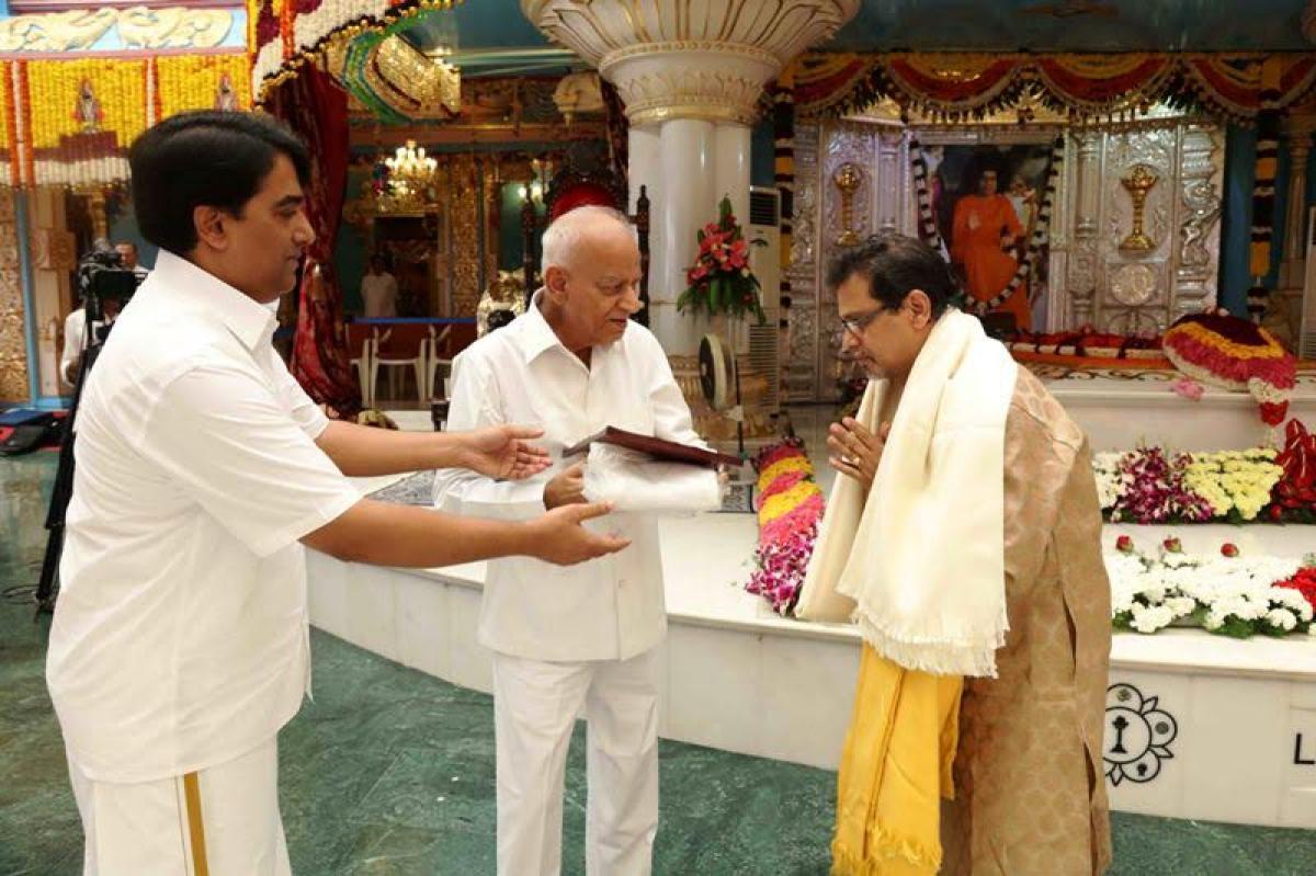 Check out Ashadi Ekhadashi Festival celebrations at Sathya Sai Ashram Puttaparthi