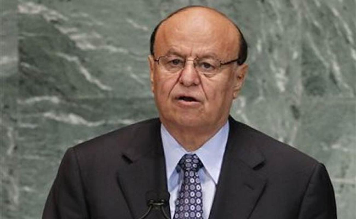 Exiled Yemen President Says Fighting Huthis to Stop Iran Expansion