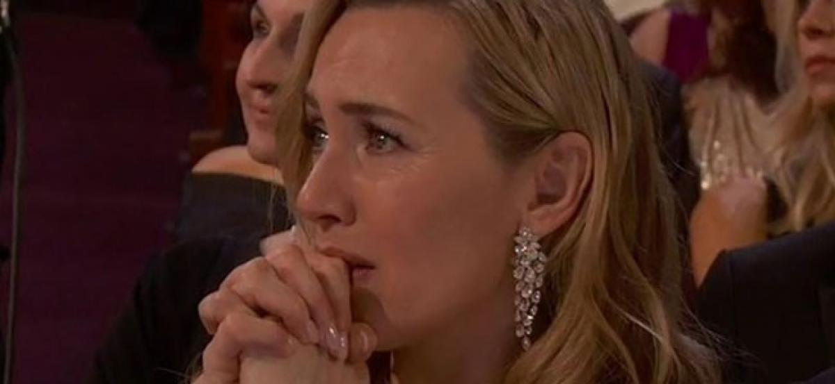 See Kate Winslet Reaction To DiCaprio Winning Best Actor Oscar