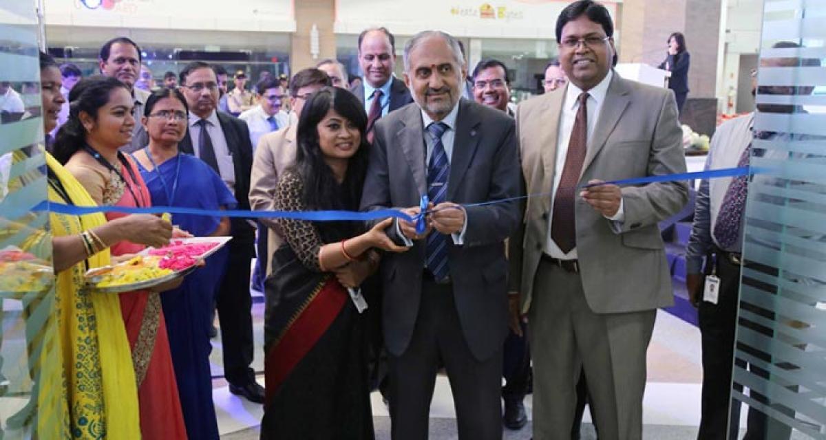 SBI opens digital branch in Hyd