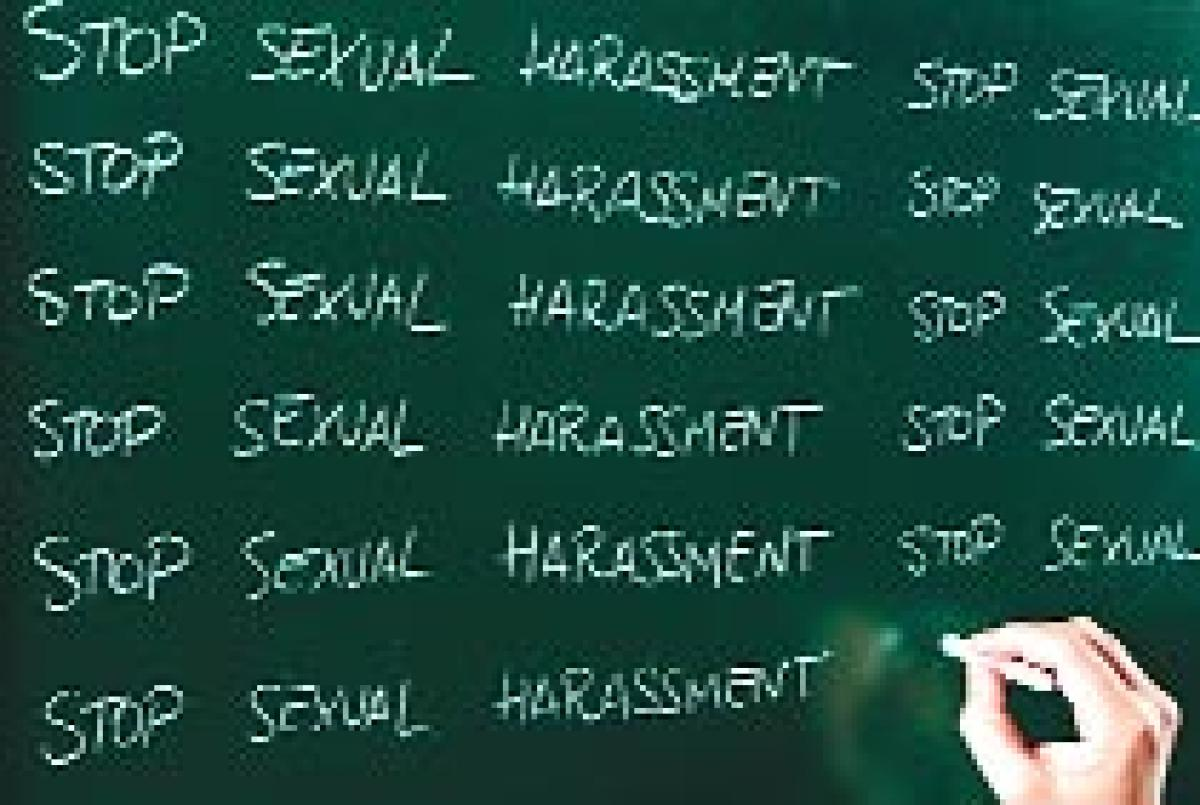 School teacher accused of sexually harassing students