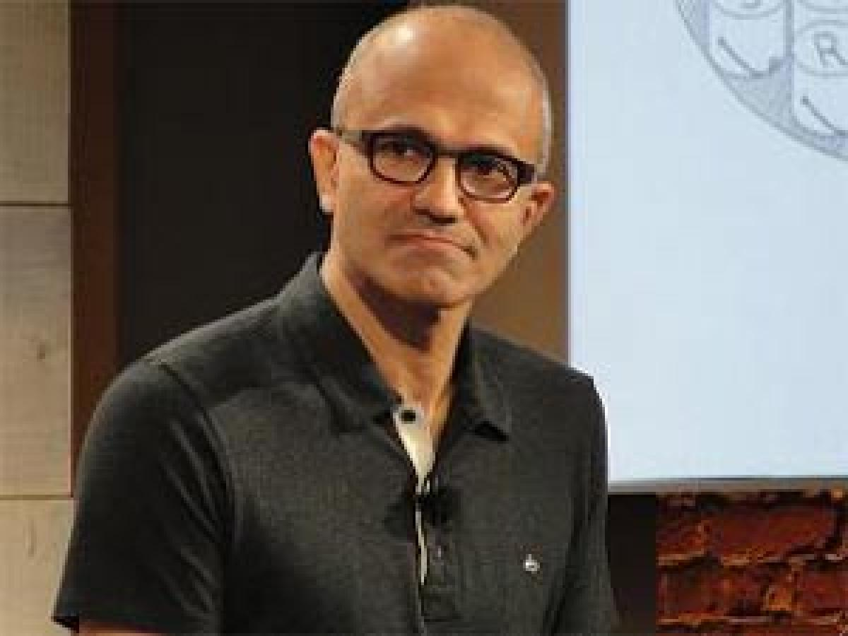 Nadella enthused by startup culture