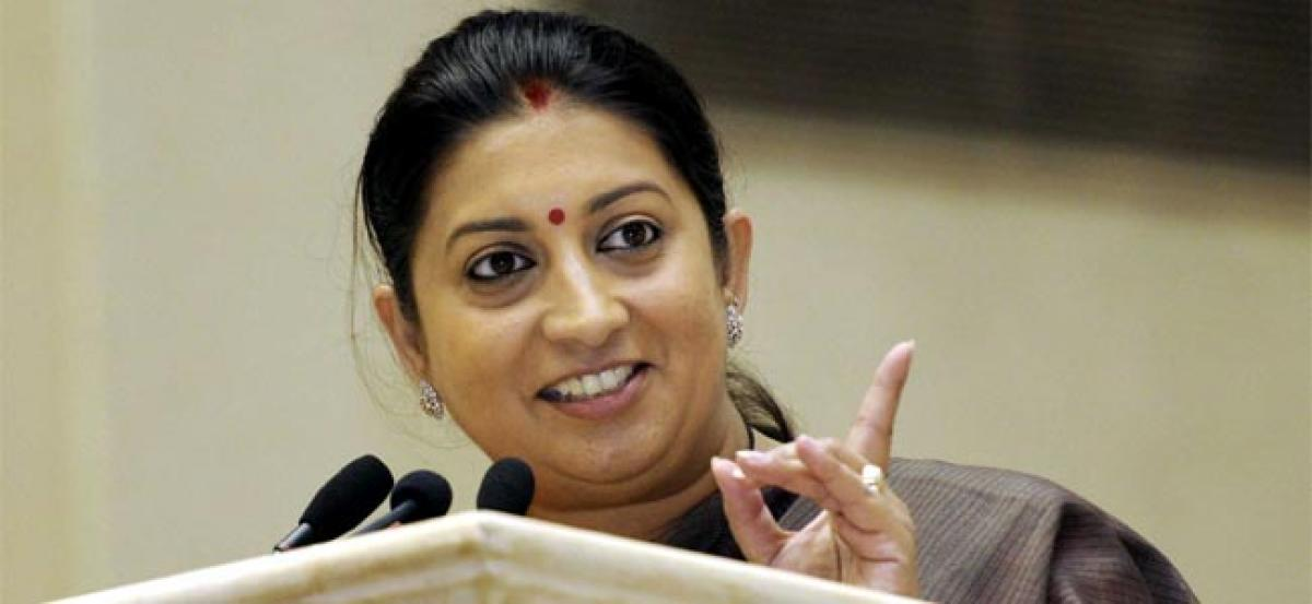 Rahul Gandhis comments against Narendra Modi reflect his worry about PMs popularity: Smriti Irani