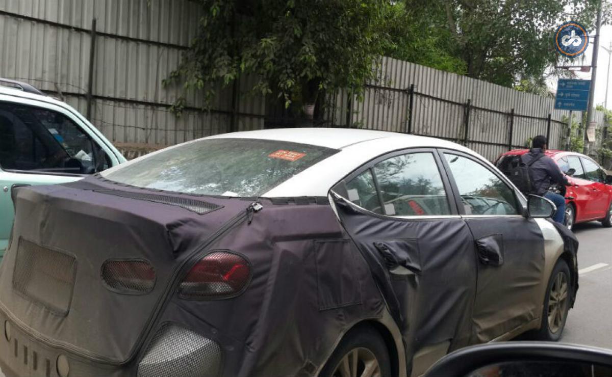 India tests 2017 Hyundai Elantra