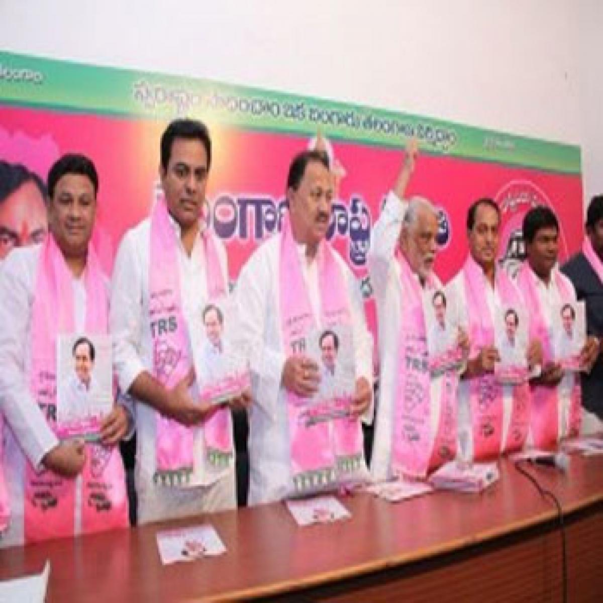 TRS manifesto promises better Hyderabad
