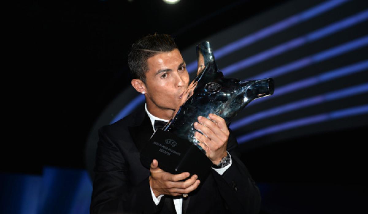 Cristiano Ronaldo still the UEFA best player in Europe