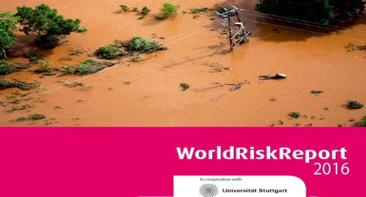 India ranks 77 in World Risk Index