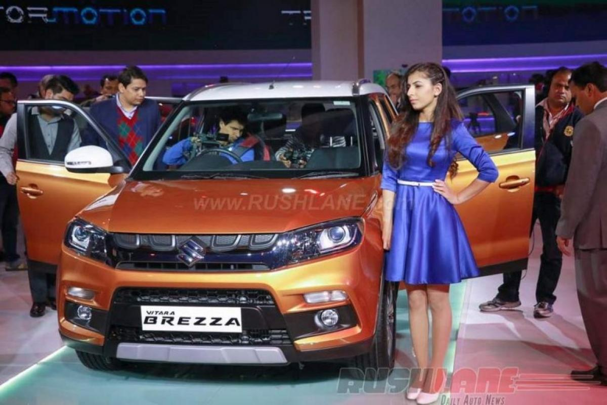 Maruti Vitara Brezza diesel to be launched in India in March