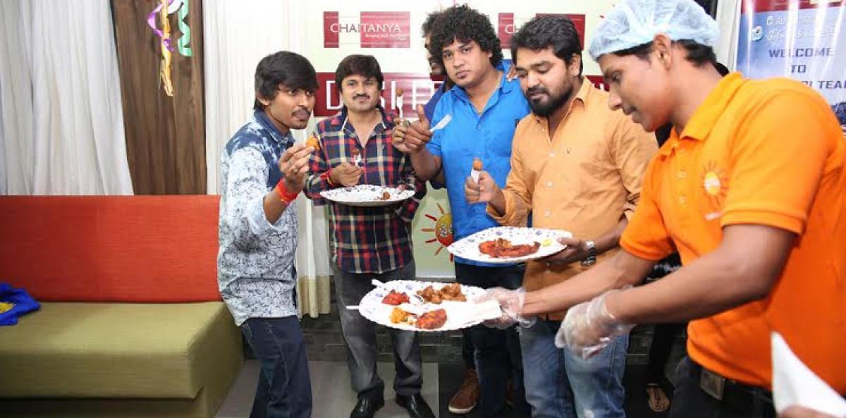 Desi food festival launch by Hora Hori movie team and Jabardasth team