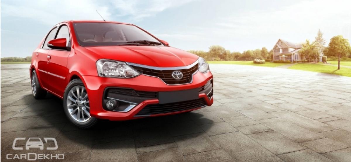 Toyota Launches Etios Liva and Etios