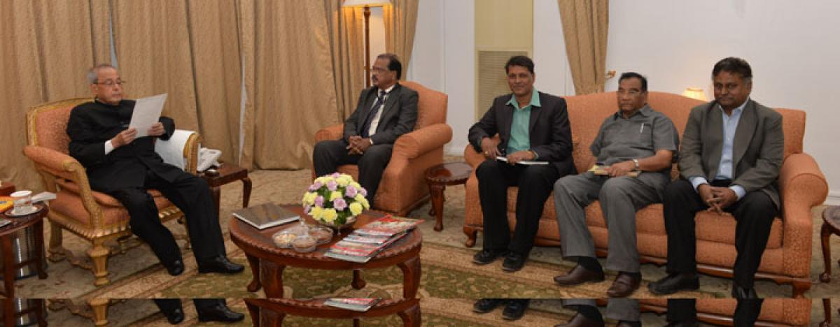 Tecci delegation calls on President