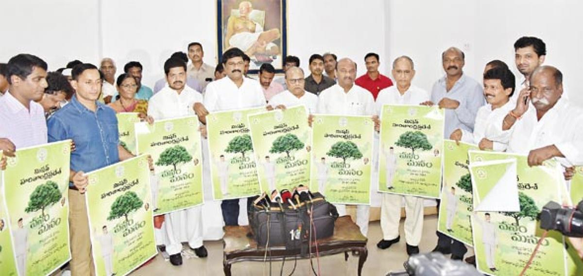 Stage set for mass plantation drive